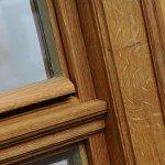 Kämpferansicht Holzfenster