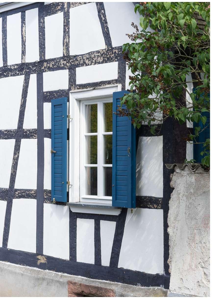 Fachwerkfenster PUR in Darmstadt