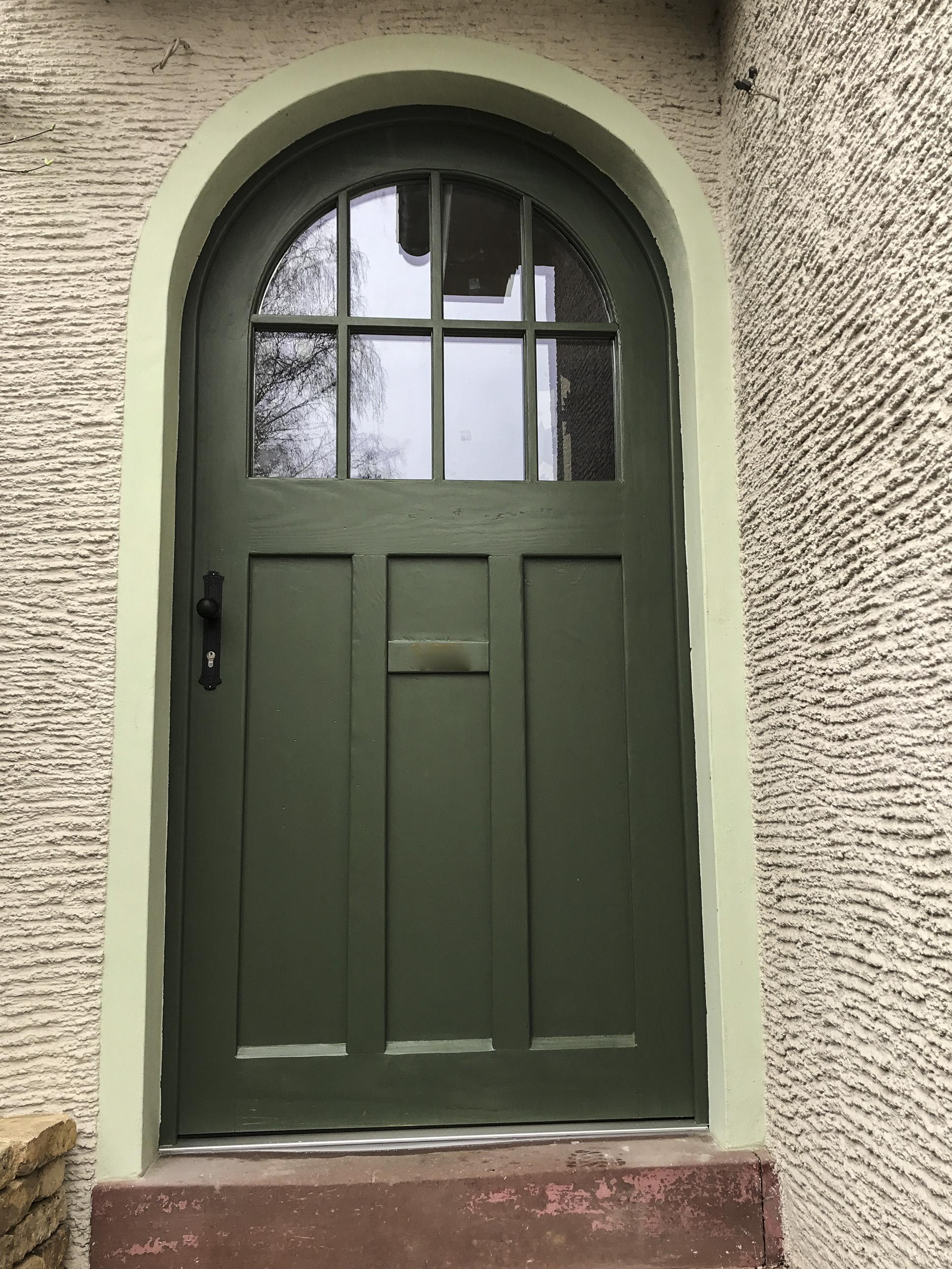 Historische Haustür in Seeheim-Jugenheim